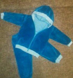 Велюровый костюм. Р86-92.