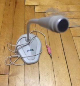 Микрофон для компьютера dialog