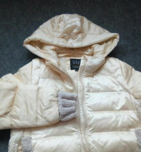 Куртка на девочку микропух