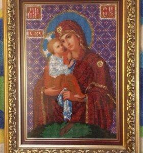 Икона Божией матери! Почаевская!