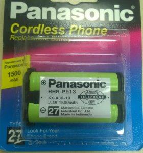 Аккумулятор на радиотелефон Panasonic