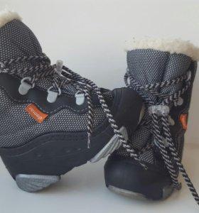 Ботиночки зимние demar