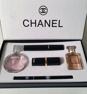 Набор Подарочный Chanel 5в1 + бонус