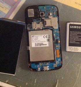 Запчасти от Samsung Galaxy core.