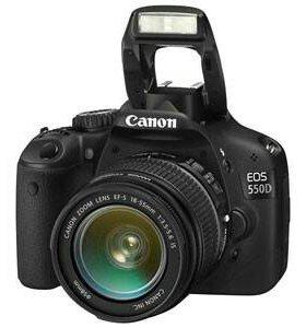 Фотоаппарат Canon EOS 550D kit 18-55