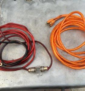 Провода для буфера и усилителя 4канального