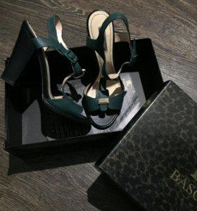Туфли на каблуке, натуральная кожа