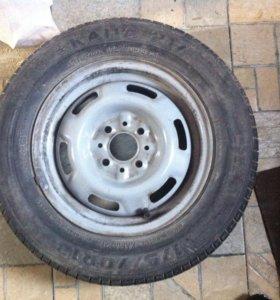 Колёса летние R-13 5 шт., колеса зимние  R-14 4 шт