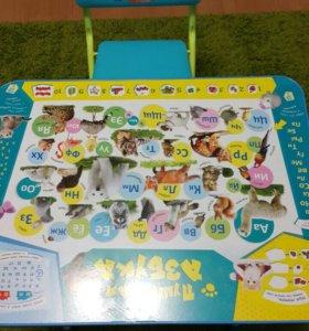 Детский стол и стул.Новый!