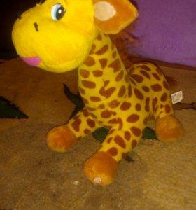 """""""жираф"""" мягкая игрушка"""