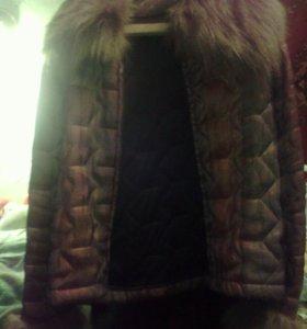 Курточка женская хамелеон