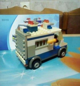 Конструктор Лего (аналог) Полицейская машина