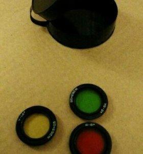 Светофильтры для объектива Зенитар