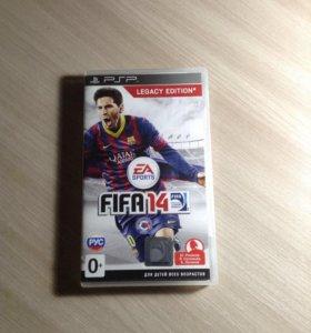 Игра FIFA 14 на PSP