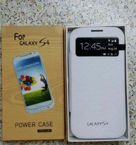 Samsung S4 аккумулятор чехол