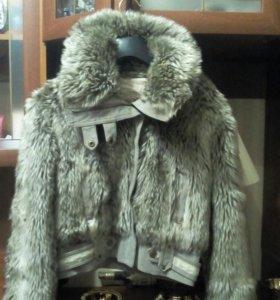 Шубка            куртка мех искусственный
