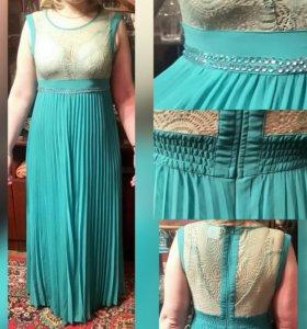 Платье в пол 50-52