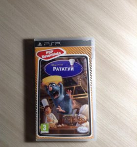 Игра Рататуй на PSP