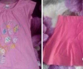 Одежда на девочку 4-7 лет