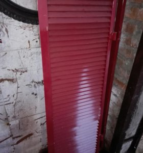 Металлическая ставня для окна
