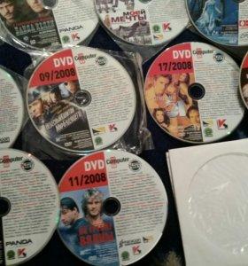DVD диски . Разные фильмы