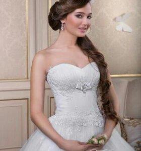 Свадебное платье + кринолин