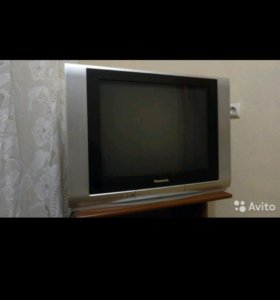 Телевизор Panasonic TX-25FJ20T+тумбочка+DVD плеер