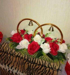 Украшения на свадебный кортеж