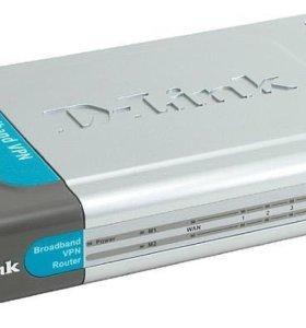 Маршрутизатор D-Link DI-804HV 1шт