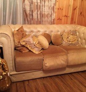 Комплект мягкой итальянской мебели