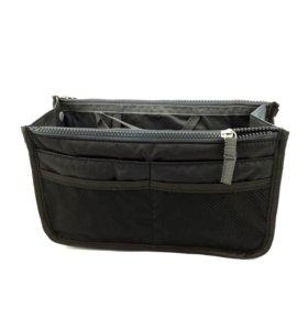 Нейлоновый складной органайзер для багажа (черный)