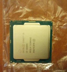 Процессор i5-6600к новый