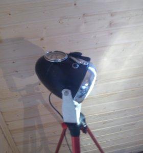 Торшер мото лампа
