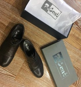 Продам мужские туфли ботинки кожа размер 39