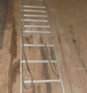 Трехсекционная лестница.
