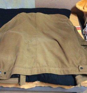 Вельветовая мужская куртка