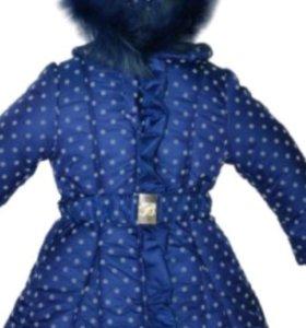 Новое пальто Borelli. пух и изософт. 5 лет