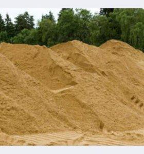 Доставка сыпучих материалов песок щебень