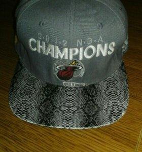 Снэпбек Miami Heat Champions 2012. NBA. Basketball