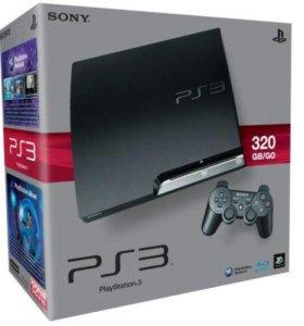 Игровая консоль Sony PlayStation 3 12 GB + 320 Gb