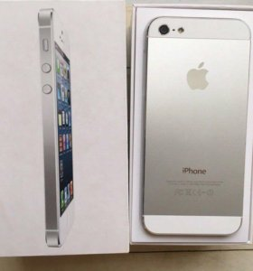 iPhone 5 64 GB white
