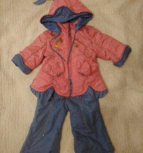 Куртка+штанишки демисезон рост 74-80