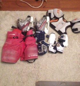Хоккейная форма на 5-7 лет.