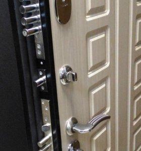 Входная,металическая,новая дверь
