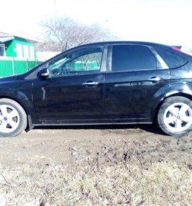 Форд фокус 2 хэтчбек черный