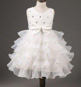 Платье новое белоснежное новое