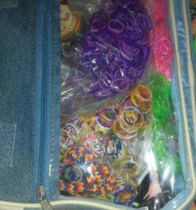 Резиночки и готовые браслеты