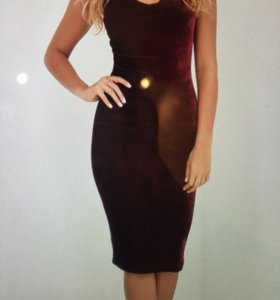 Новое платье бархат!!