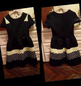 Платье. Теплое