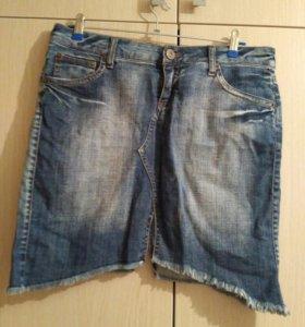 Юбка джинсовая.терранова